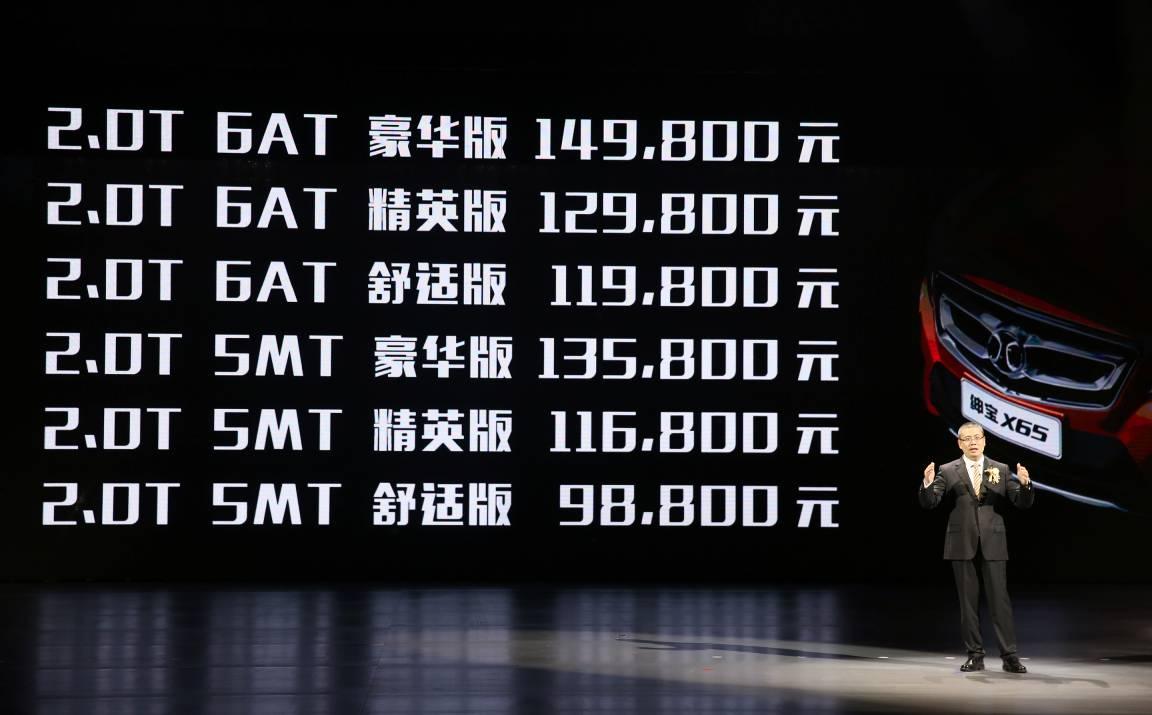 北汽绅宝_绅宝X65_2015款_2.0T 手动豪华型