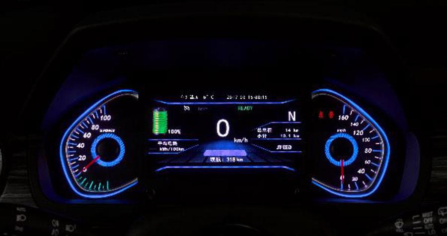 7.99万起爆款国民神车 试驾北汽新能源EX360