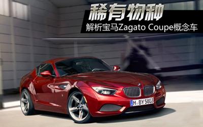 稀有物种 解析宝马Zagato Coupe概念车