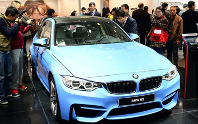 全新一代宝马M3 北京车展正式亮相