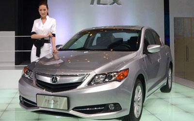 两款入门车型 北京车展实拍讴歌ILX/RDX