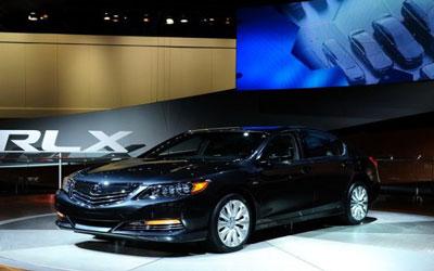 讴歌RLX混动四驱版将在北京车展亮相
