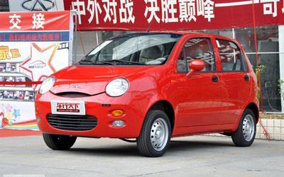 奇瑞QQ3店内部分现车 购车可送交强险