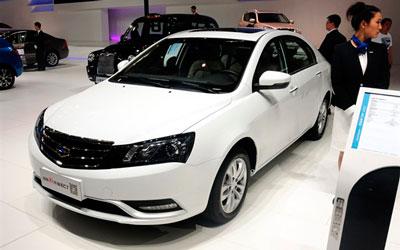 吉利新款EC7于北京车展正式发布