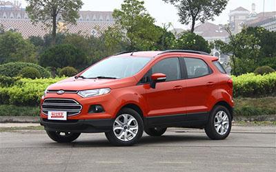 1月-4月热销小型SUV盘点 福特翼搏