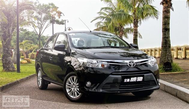 丰田新威驰2014年1-4月销量盘点