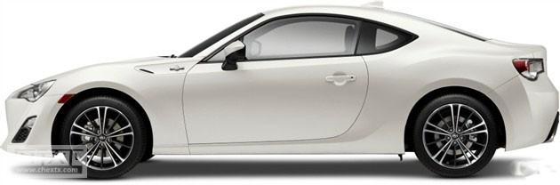 新款丰田86北美售价曝光 约合15.5万元起