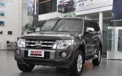 三菱新款帕杰罗上市 售39.80-45.30万元