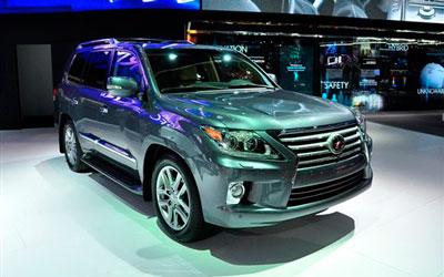 雷克萨斯于底特律车展发布改款LX 570