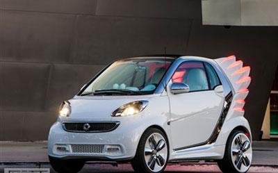 洛杉矶车展:smart发布forjeremy概念车_图片新闻