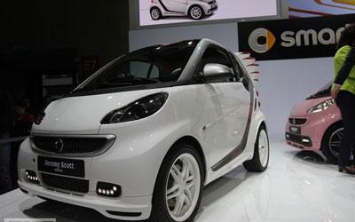 上海车展:smart Jeremy Scott售38.8万_图片新闻