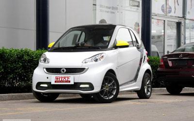 2014北京车展:smart特别版14.2888万起
