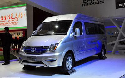 2014北京车展:大通V80混动版车展首发