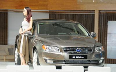 成都车展探馆 国产新款沃尔沃S80L
