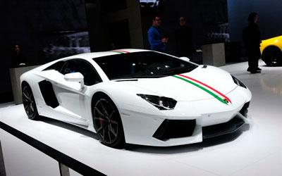 兰博基尼Aventador特别版亮相2014北京车展