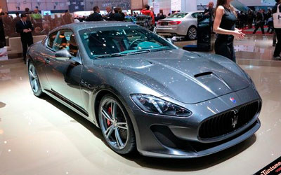玛莎拉蒂新GT MC Stradale亮相日内瓦车展