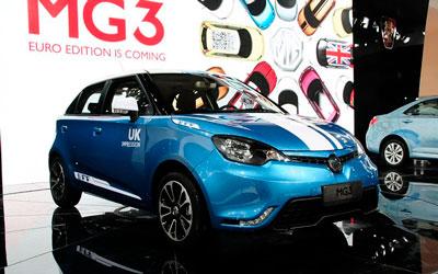 新款MG3即将上市 同步欧版设计