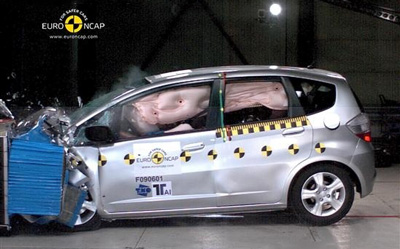 E-NCAP碰撞成绩 欧版飞度荣获五星安全