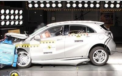 E-NCAP碰撞成绩 全新奔驰A级获得五星