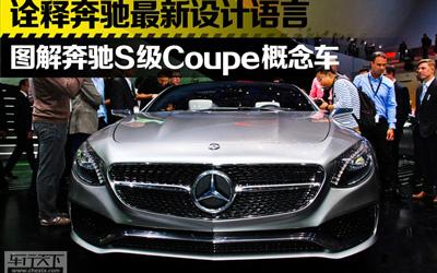 法兰克福车展 奔驰S级Coupe概念车