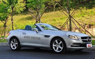 奔驰SLK全系售价下调 售58.8万-89.8万元