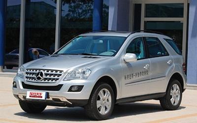 适合女性SUV车型导购——奔驰ML350