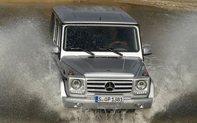 结实安全可靠 精编非承载车身车型奔驰G500