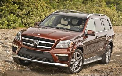 奔驰新款GL63 AMG车型上市 价格下调16万