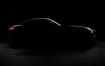 奔驰AMG GT发布首张官图 秋季正式发布