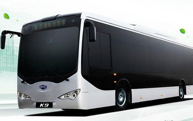 比亚迪K9电动客车-比亚迪携手广汽组建新能源客车公司高清图片