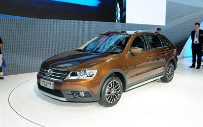 车展体验上海大众朗境 预计将年内上市