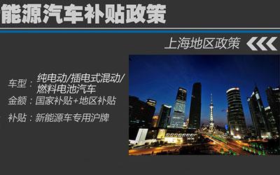 上海新能源车补贴新细则 补贴标准不变