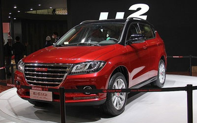 紧凑型SUV哈弗H2销量激增 9月售近万台