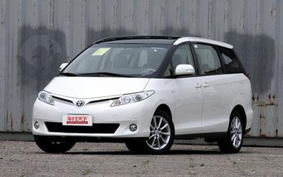 丰田推改款版普瑞维亚 外观略有变化
