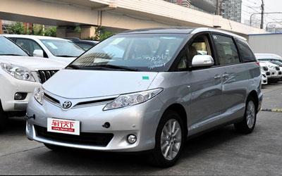 新款丰田普瑞维亚上市 售46.98万起!