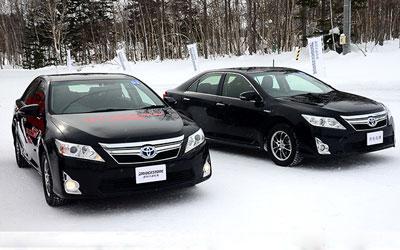 体验普利司通冬季胎 提升冰雪路抓地力