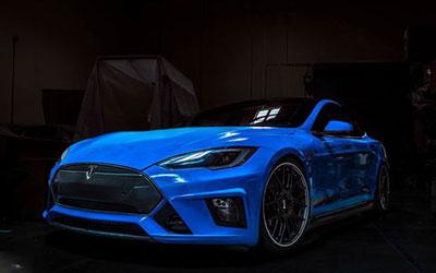 外观改装特斯拉Model S 豪华感飙升