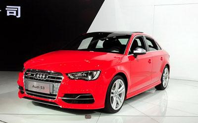 奥迪全新S3售39.98万元 2014广州车展