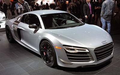 2014洛杉矶车展:奥迪R8 Competition