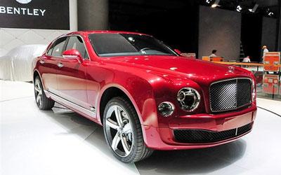 新款宾利慕尚上市 售498-555.8万元