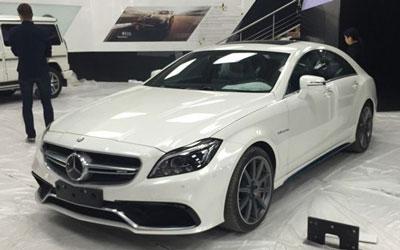 2014广州车展探馆:奔驰新款CLS 63 AMG