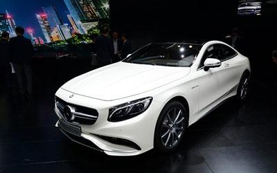 2014广州车展:S级Coupe售199.8万元起