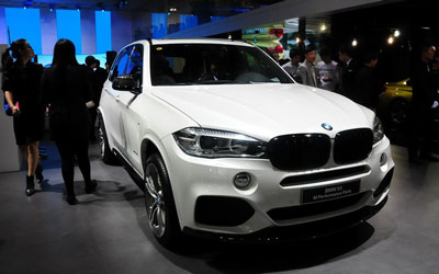 2014广州车展:宝马X5 M Performance