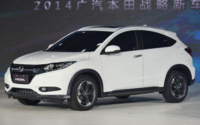 广汽本田缤智外观实拍解析 小型SUV力作