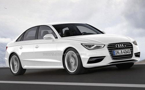 全新奥迪A4将于今年底发布 轴距超2.8米