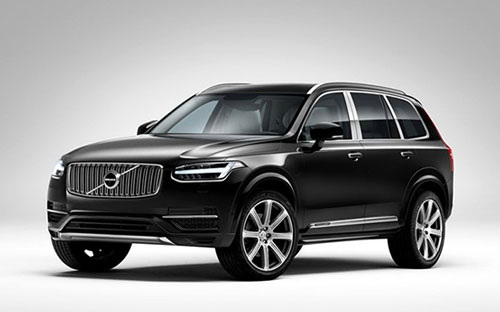 XC90 Excellence官图发布 后排更享受