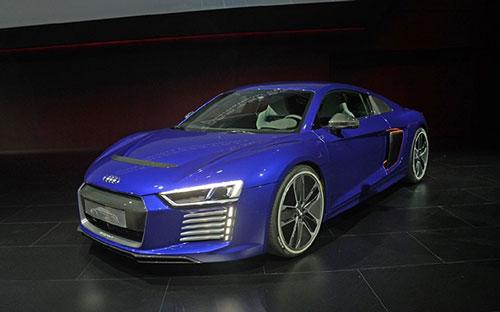 奥迪R8全球首发 纯电动自动驾驶概念车