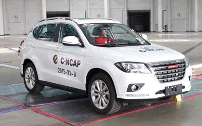 半数项目满分  哈弗H2获C-NCAP五星佳绩