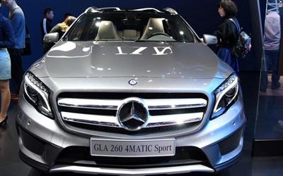 售26.98万起 国产奔驰GLA亮相上海车展