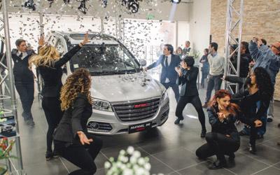 哈弗 SUV批量出口南美市场